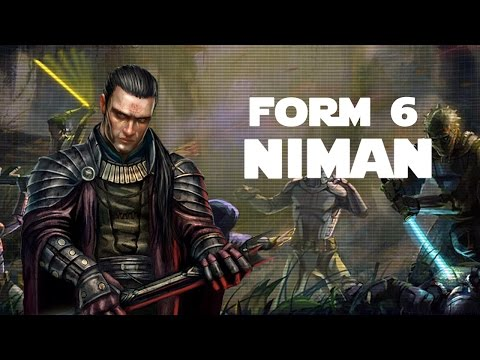 Niman (Form 6 Lightsaber Combat)