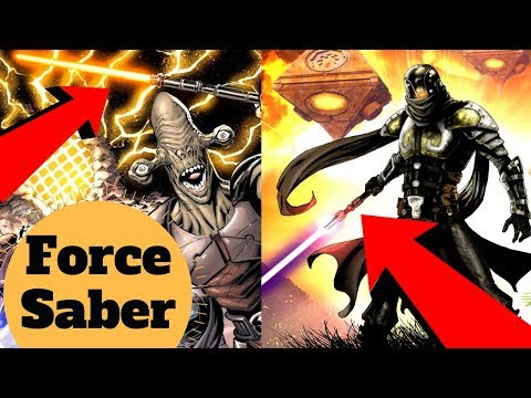 The Rakata DARK SIDE SABER - Forcesaber Explained - Star Wars Old Republic Weapons Lore