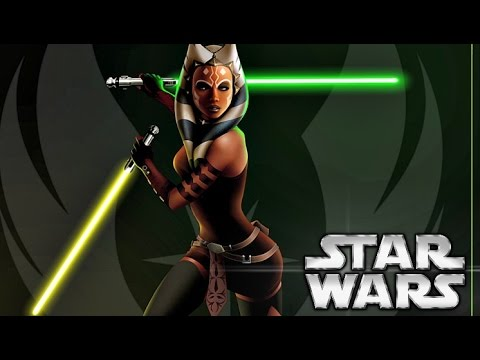 How Ahsoka got Her Second Green/Yellow Lightsaber - Star Wars Explained