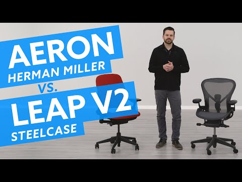 Herman Miller Aeron vs Steelcase Leap V2: Which is best for me?