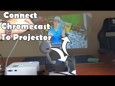 Google Chromecast: How to Connect to Projector (ALL GOOGLE CHROMECASTs)