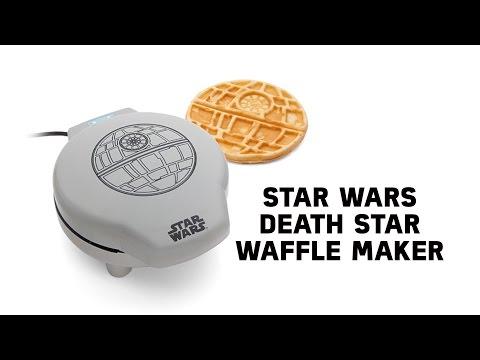 Star Wars Death Star Waffle Maker from ThinkGeek