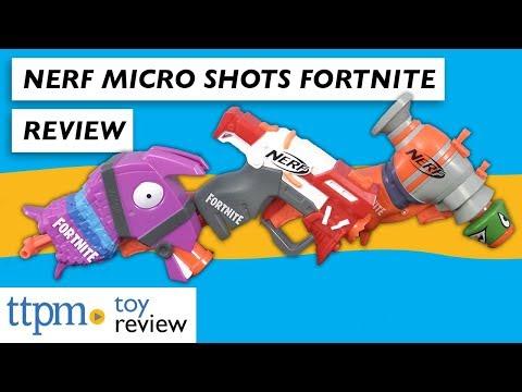 Nerf Fortnite Microshots from Hasbro