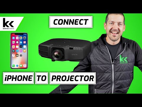 How To Connect An iPhone to Projector