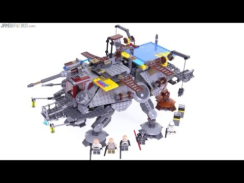 LEGO Star Wars Captain Rex's AT-TE reviewed! 75157