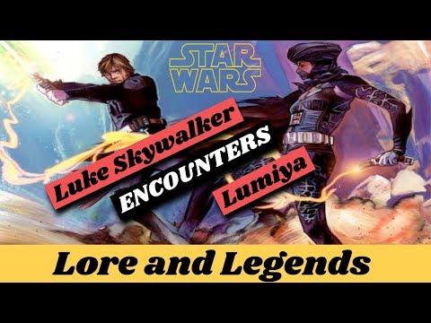 Luke Skywalker meets Lumiya | Star Wars Explained | Lore and Legends