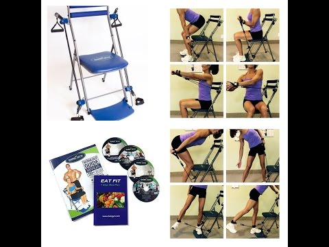 Rosalie Brown's Awesome Chair Gym Workout