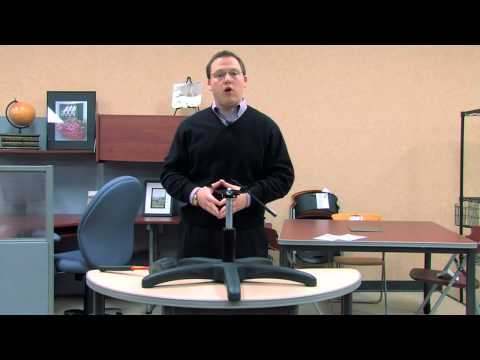 OFM Presents How To Switch Out A Gas Lift For An Office Chair