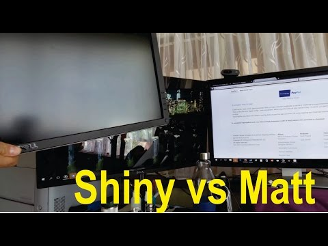 Dell S2715H Shiny vs Matt: final review.