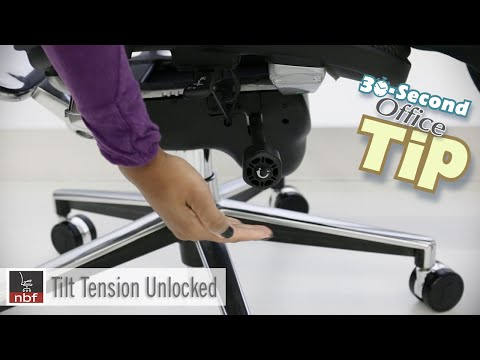Chair Tilt Tension | NBF 30 Second Office Tip