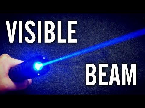 10 Ways to Make a Laser Beam More Visible