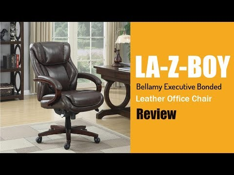 La Z Boy Bellamy Executive Bonded Leather Office Chair
