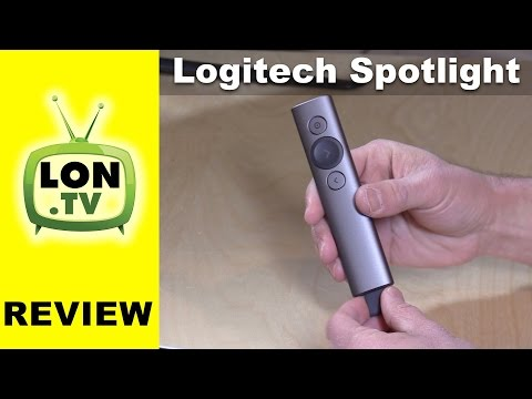 Logitech Spotlight Advanced Presentation Remote Review