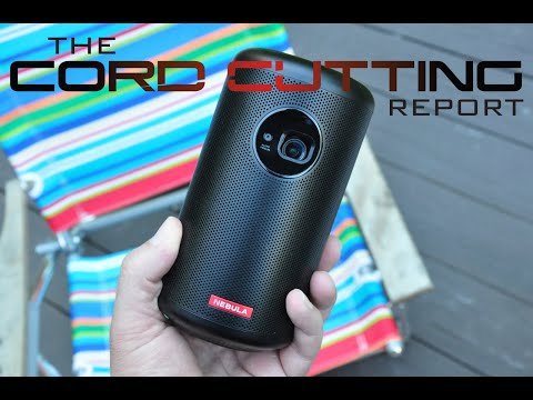 Nebula Capsule II Review: The Best Portable Projector?
