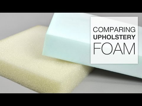 Comparing Different Types of Upholstery Foam