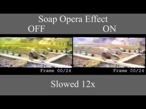 Soap Opera Effect in Slow Motion