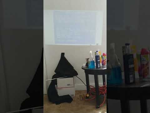 How to by pass the activation code for the miroir mini projector