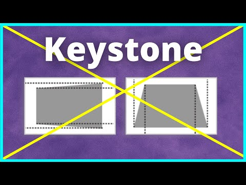 Avoid MANUAL Keystone for THIS Reason | Projector Tips