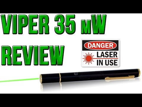 Dragon Lasers Viper 35 mW Green Laser Review