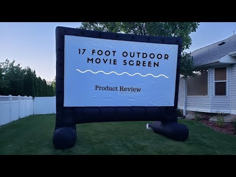EasyGo Products 17' Inflatable Mega Movie Screen- Product Review