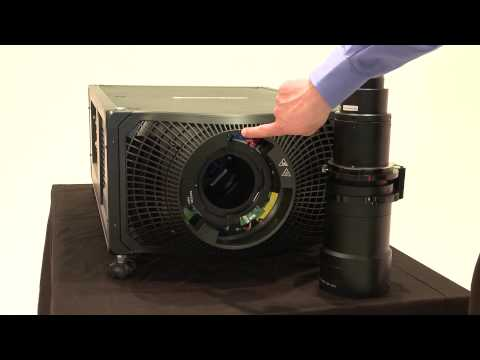 Boxer - Installing & Removing the Projection Lens
