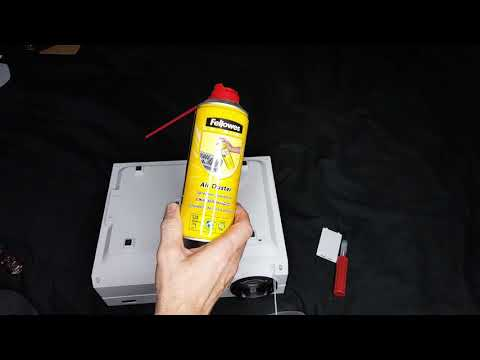 Projector lens cleaning tip you probably don't know