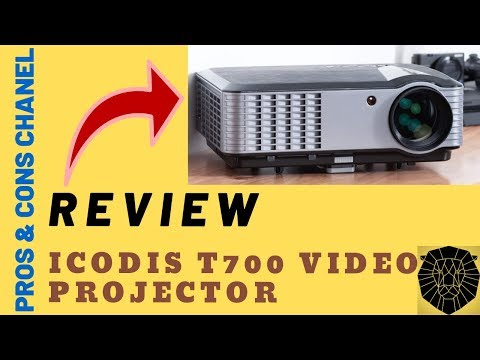 iCODIS T700 Video Projector 4000 Lumens Review