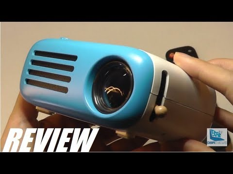 REVIEW: YG200 Mini LED Pocket Projector (HDMI, Retro Style)