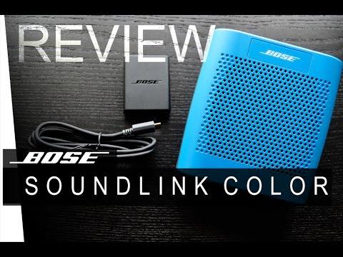 Bose Soundlink Color - REVIEW