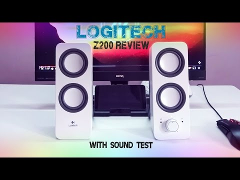 logitech Z200 speakers review & sound test | Best budget speakers