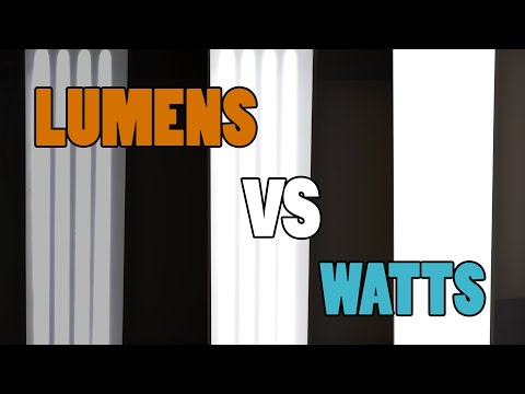 Difference Between Lumens and Watts? - THE BRIGHTNESS OF LIGHTS