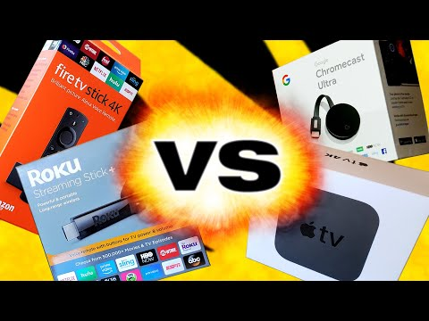 4K Streaming Device Round Up 2019: Apple TV vs Chromecast vs Roku vs Fire TV, Which is best for you?