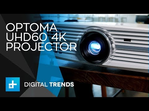 Optoma UHD60 4K Projector - Hands On Review