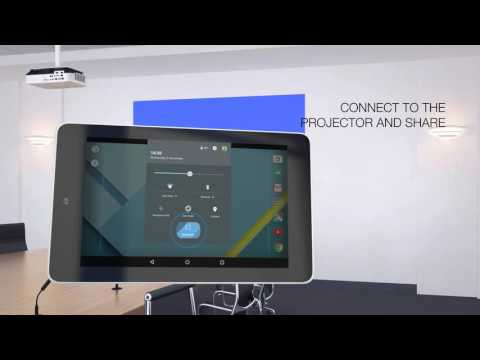 How-to set up Screen Mirroring on your projector