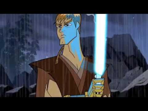 Asajj Ventress VS Anakin Skywalker