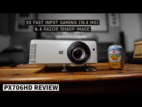 Viewsonic PX706HD Gaming Projector Review! - Gamers You're Welcome