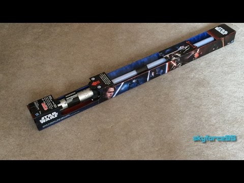 Anakin to Darth Vader Ultimate FX Lightsaber Unboxing