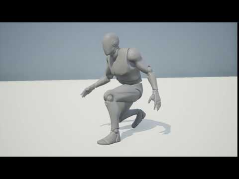 Crouch Walk Animation