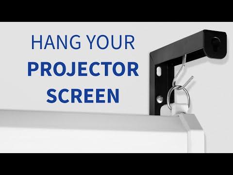 MOUNT-PS01B Universal Projector Screen Wall Brackets by VIVO