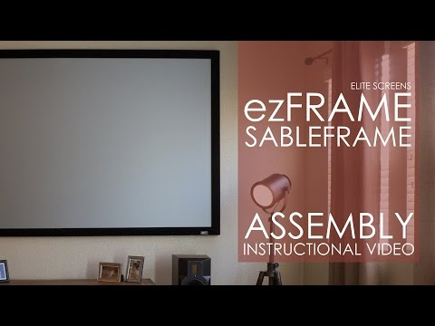 Elite Screens ezFrame/SableFrame Assembly