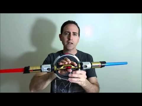 Star Wars Battle Spin Lightdaggers BladeBuilders Lightsaber Kit Review