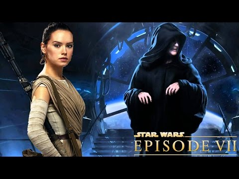 Do Rey and Darth Sidious have the same fighting style?
