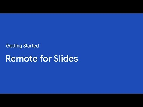 Getting Started | Remote for Slides