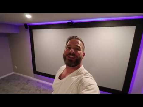 Projector Screen Paint how to.