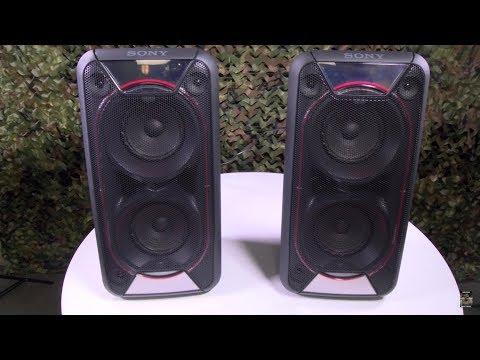 Sony GTK-XB90 Extra Bass Portable Bluetooth Speakers