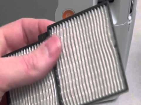 Cleaning Your Projector Filter