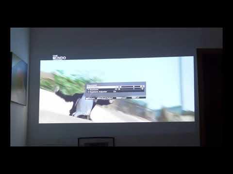 Keystone Adjusting - Epson Projector