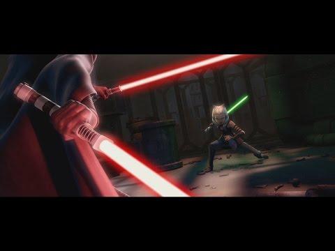 Star Wars: The Clone Wars - Ahsoka Tano vs Barriss Offee [1080p]