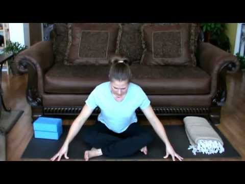 How to Sit Cross Legged with Tight Hips