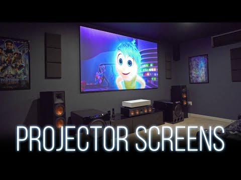 Choosing A Projector Screen - Everything You Need To Know